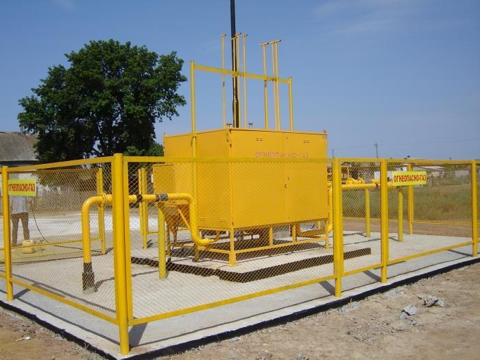 строительство газорегуляторного пункта